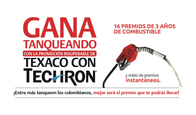 PROMOCIÓN INSUPERABLE TEXACO CON TECHRON®