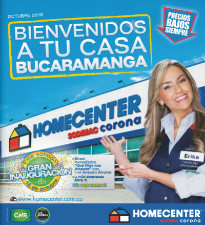 Homecenter en Bucaramanga
