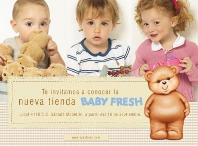 Tienda Baby Fresh Santafé Medellín