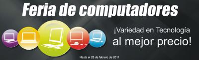Feria de computadores en Ktronix y Alkosto.